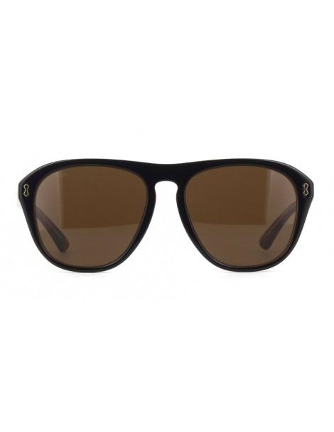 Occhiale da sole Gucci modello GG0128S colore 004-black