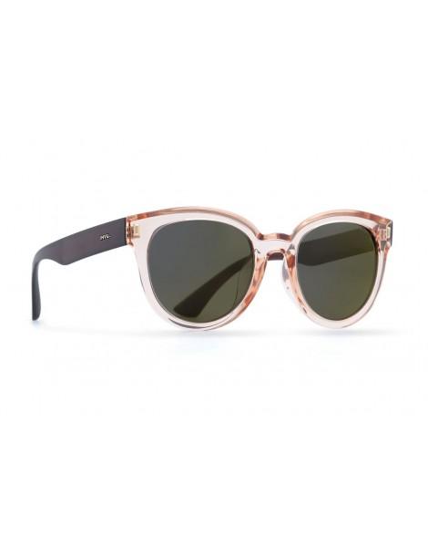 Occhiali da sole Invu. modello Trendy T2810B colore rosa carne trasparente/br