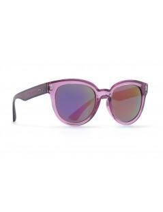Occhiali da sole Invu. modello Trendy T2810C colore viola trasparente