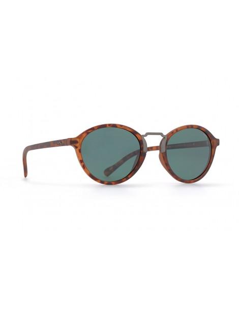 Occhiali da sole Invu. modello Trendy T2815C colore avana opaco