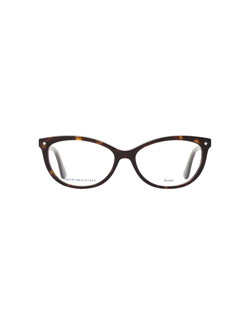 Occhiale da vista Tommy Hilfiger modello Th 1553 colore 086/15 DARK HAVANA