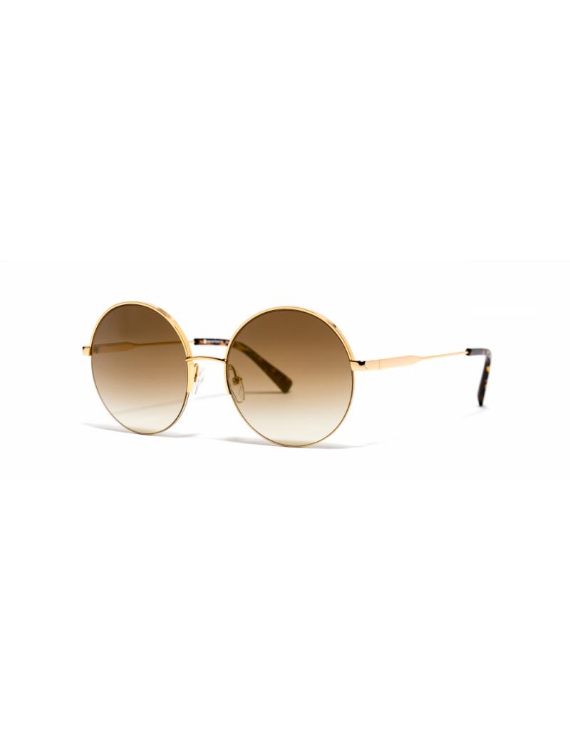 Occhiali da sole Xavier Garcia modello GIN colore 02 SHINY YELLOW GOLD / BR