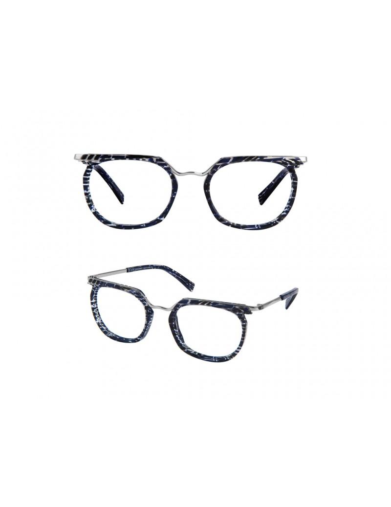 Occhiale da vista Bruno Chaussignand modello Moody colore bli