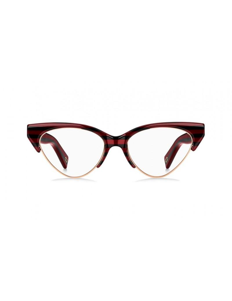 Occhiale da vista Marc Jacobs modello Marc 314 colore KVN/17 STRPD BRGNDY