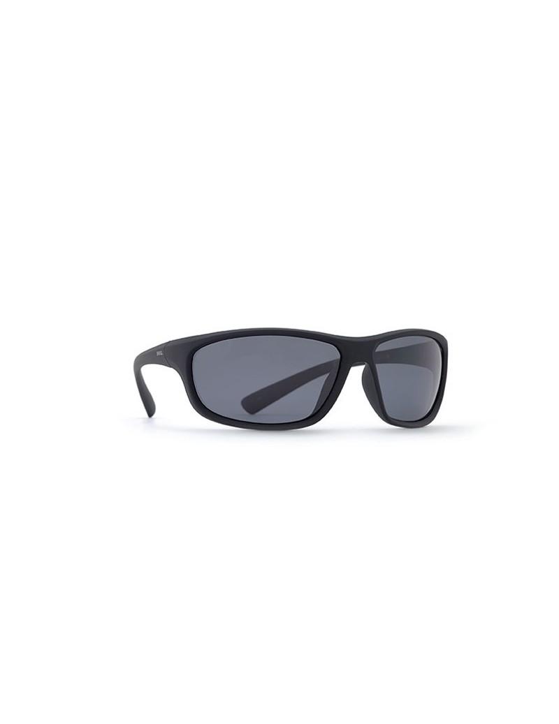 Occhiali da sole Invu. modello A2500B colore nero gommato