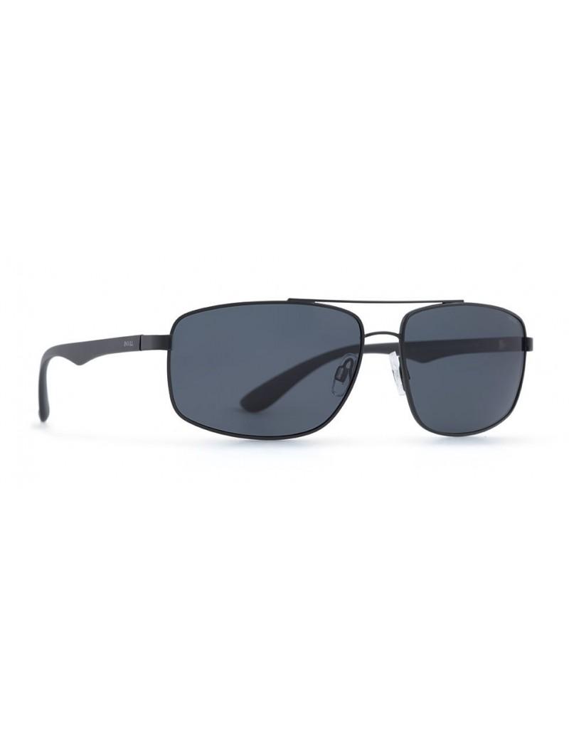 Occhiali da sole Invu. modello B1807A colore nero opaco