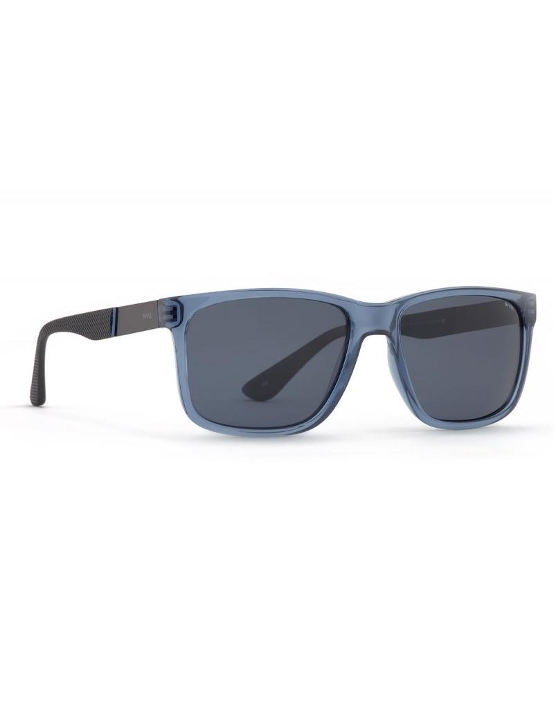 Occhiali da sole Invu. modello B2941B colore blu trasp./nero opaco
