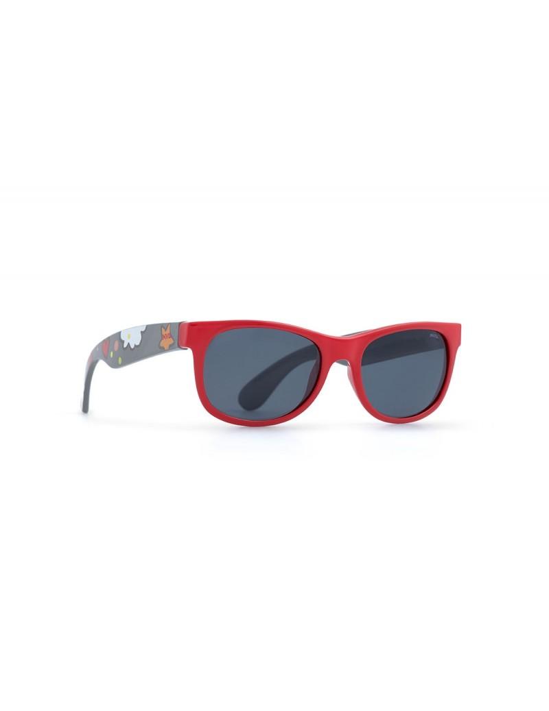 Occhiali da sole Invu. modello K2402M colore rosso