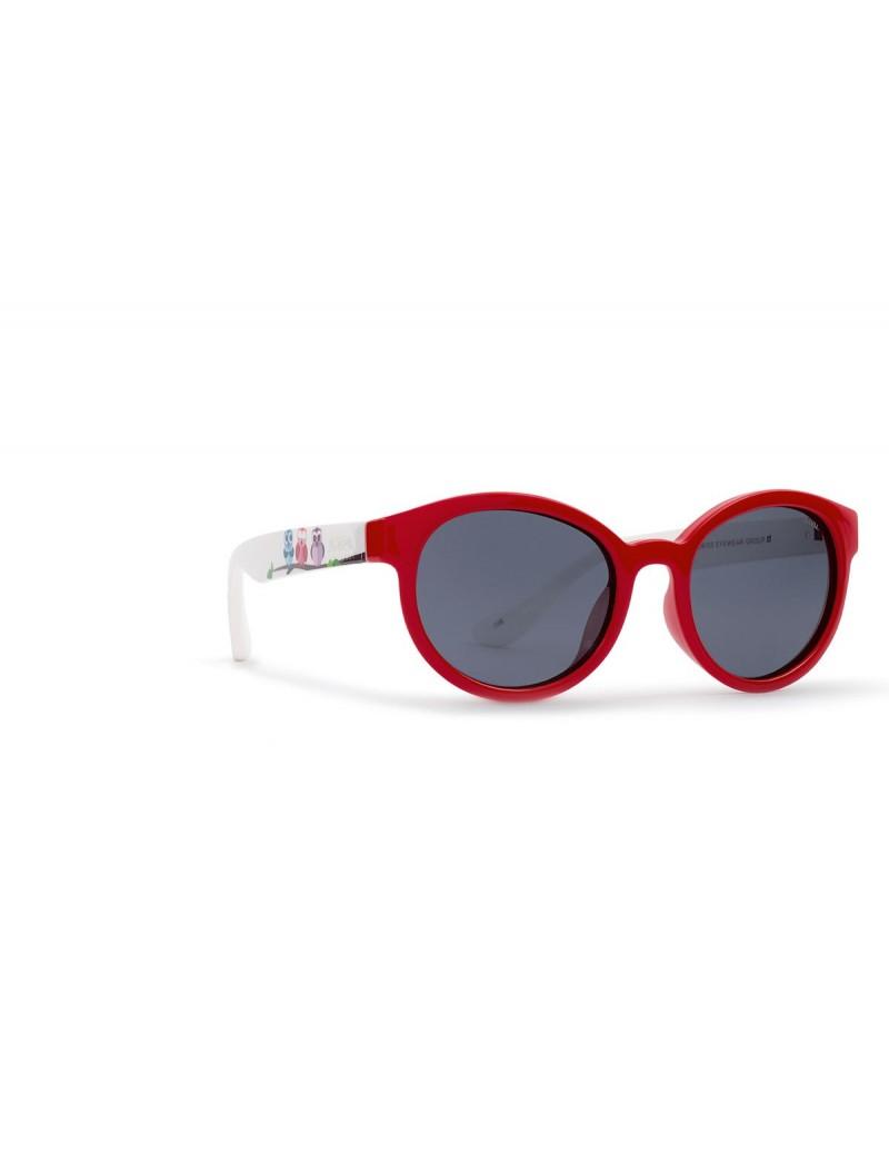 Occhiali da sole Invu. modello K2901A colore rosso/bianco
