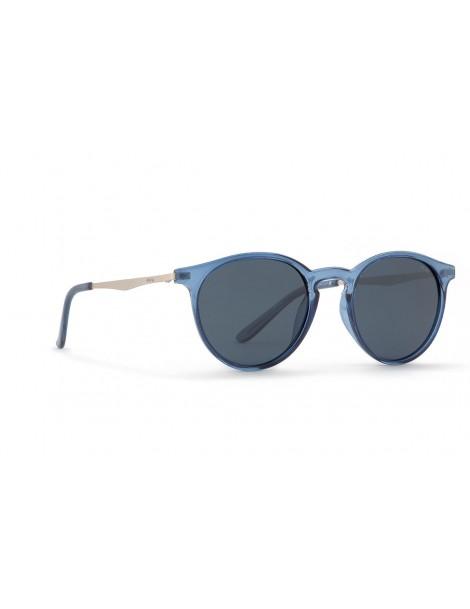 Occhiali da sole Invu. modello K2905A colore blu trasp./acciaio