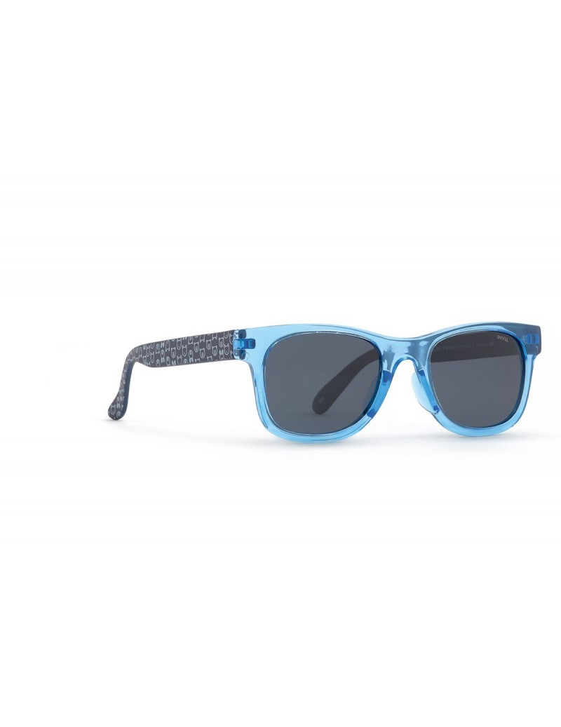 Occhiali da sole Invu. modello K2909C colore blu trasp./navy