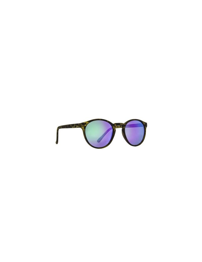 Occhiali da sole Invu. modello T2419C colore lime opaco camouflage
