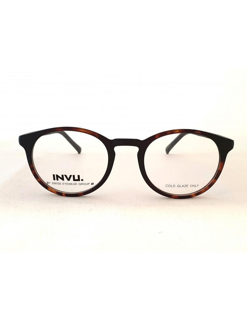 Occhiale da vista Invu. modello G4700B colore avana opaco/nero