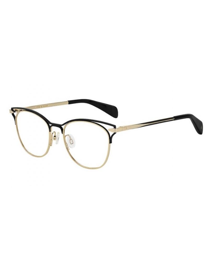 Occhiale da vista Rag & Bone modello Rnb3019 colore RHL/18 GOLD BLACK