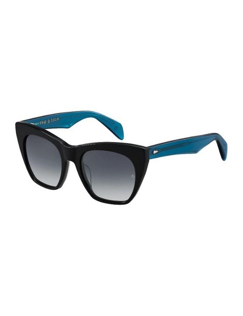 Occhiali da sole Rag & Bone modello Rnb1009/s colore D51/9O BLACK BLUE