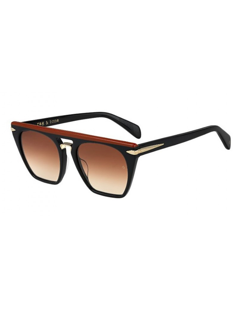 Occhiali da sole Rag & Bone modello Rnb1022/s colore F4N/HA BK SOLDBRK