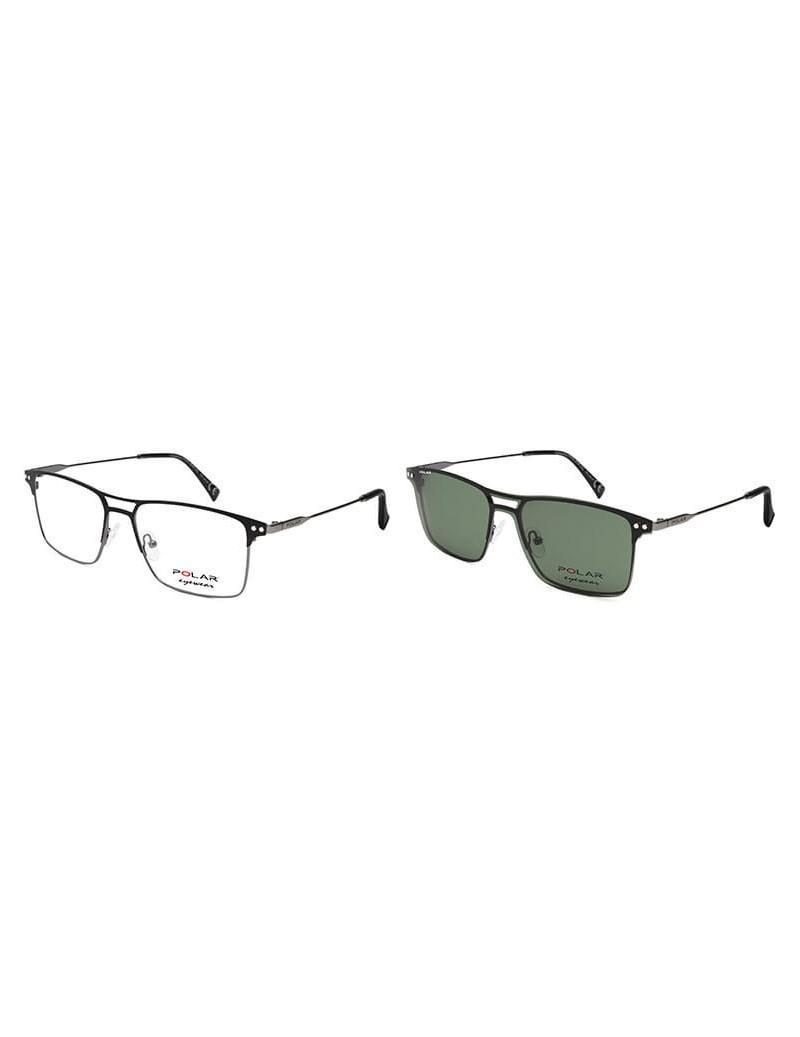 Occhiale da vista Polar Eyewear modello 418 CLIP-ON colore 49