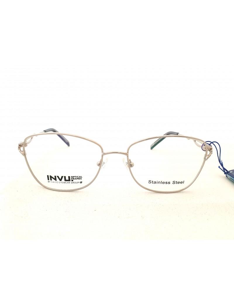 Occhiale da vista Invu. modello B3009B colore silver