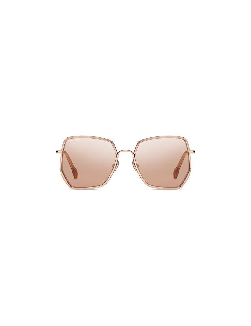 Occhiali da sole Jimmy Choo modello Aline/s colore EYR/2S GOLD PINK