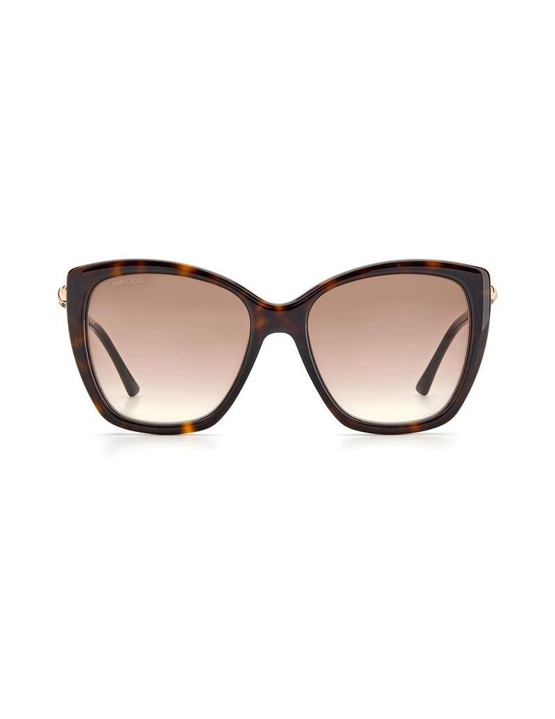 Occhiali da sole Jimmy Choo modello Rose/s colore 086/HA HAVANA