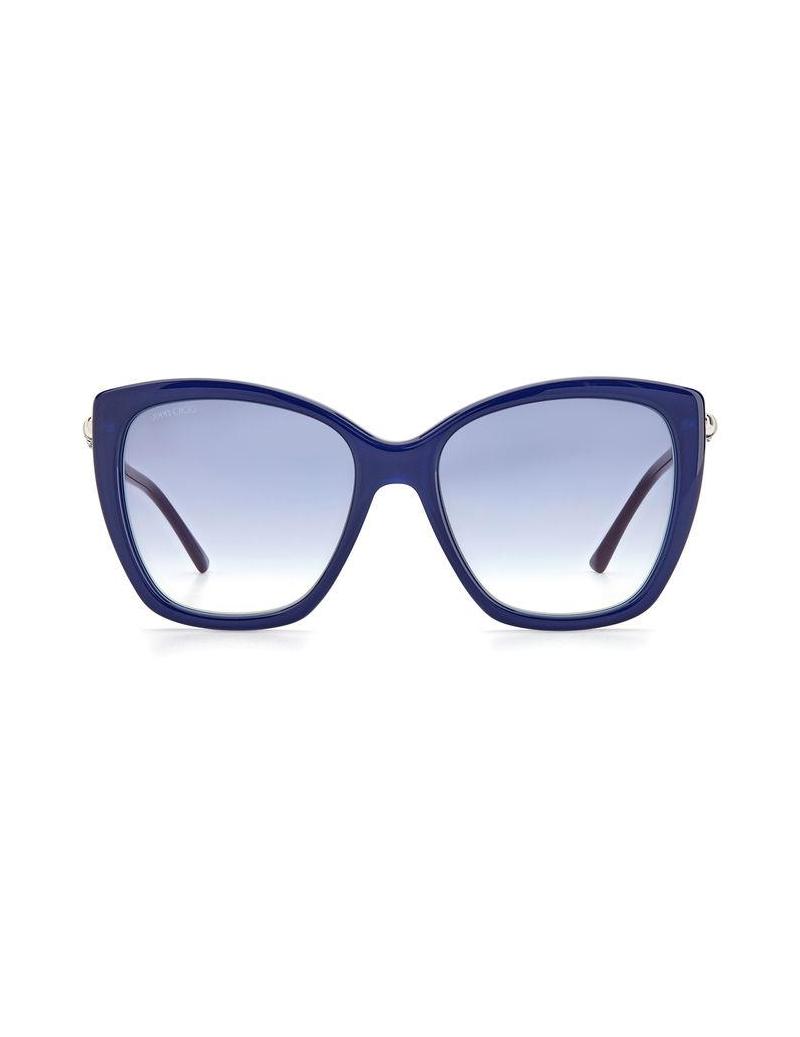 Occhiali da sole Jimmy Choo modello Rose/s colore QM4/1V CRYSTAL BLUE