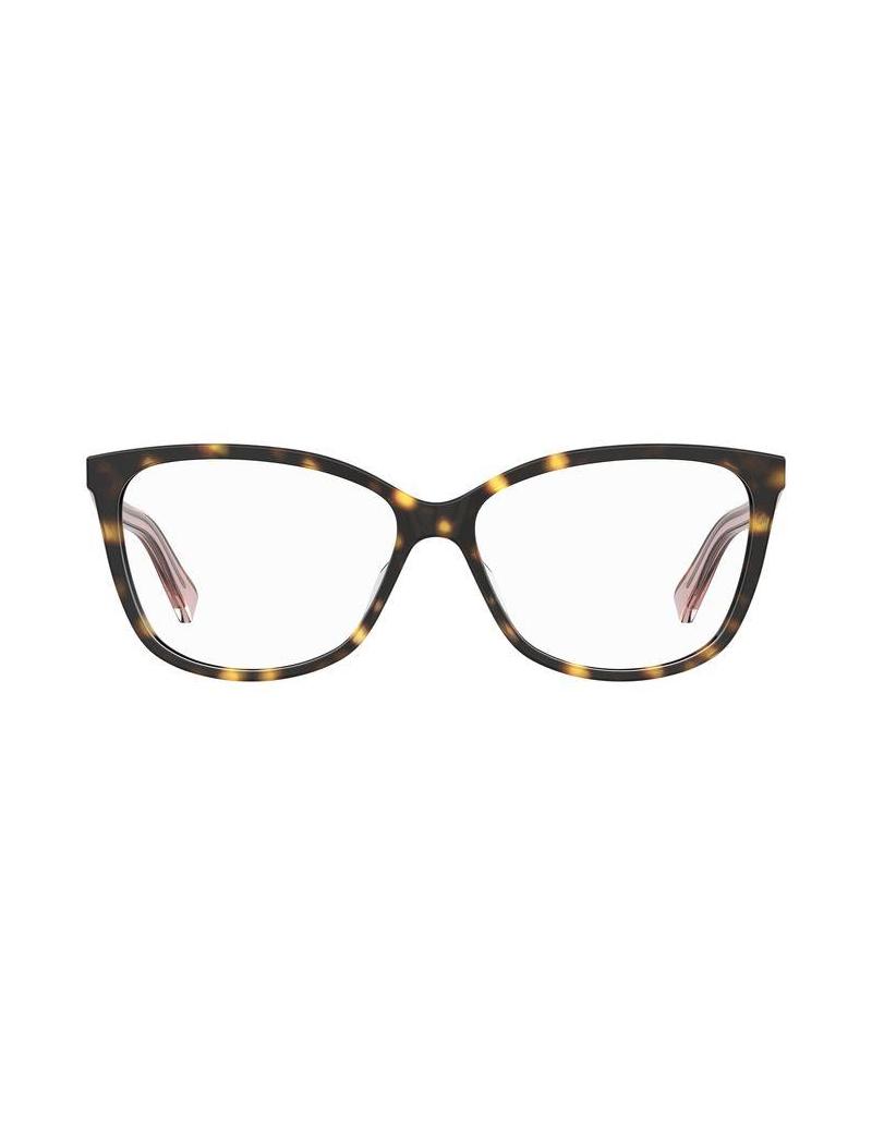 Occhiale da vista Love Moschino modello Mol546 colore 086/14 HAVANA