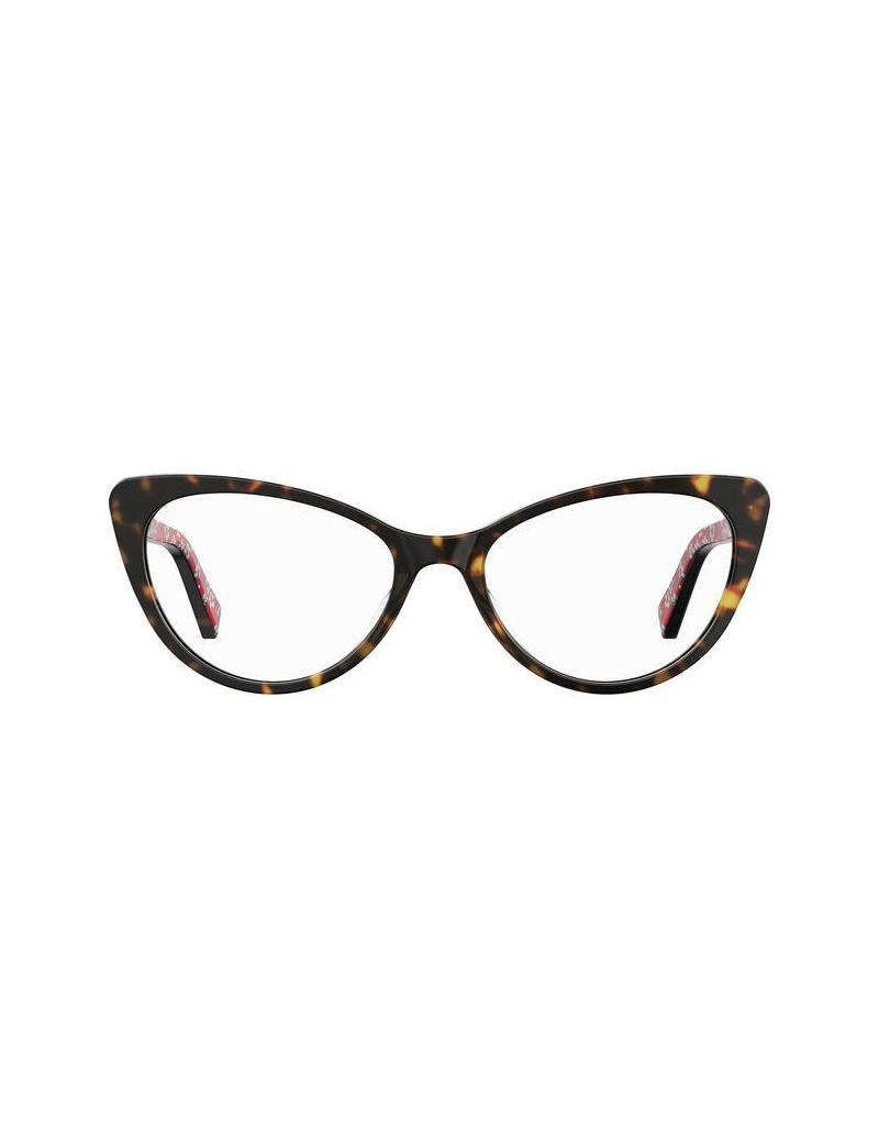 Occhiale da vista Love Moschino modello Mol573 colore 086/18 HAVANA