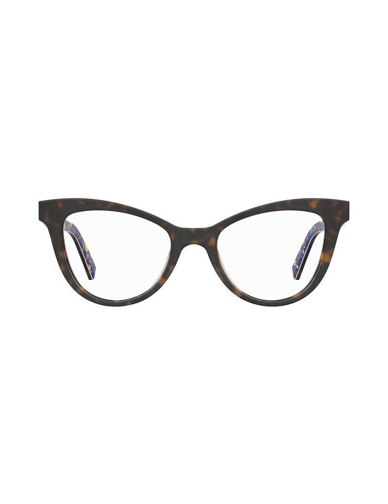 Occhiale da vista Love Moschino modello Mol576 colore 086/18 HAVANA