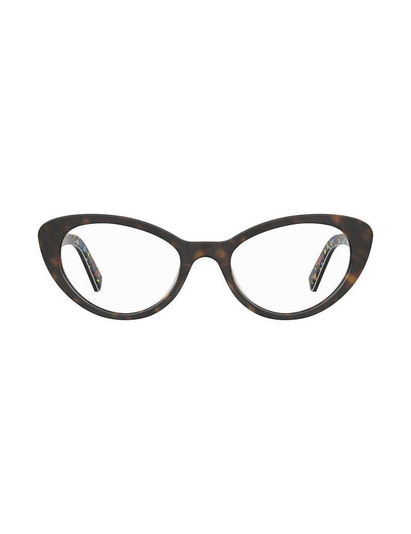 Occhiale da vista Love Moschino modello Mol577 colore 086/18 HAVANA