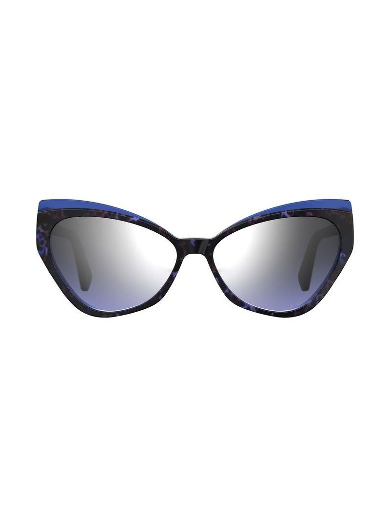 Occhiali da sole Moschino modello Mos081/s colore IPR/GO HAVANA BLUE