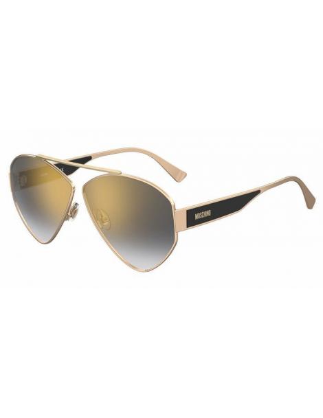 Occhiali da sole Moschino modello Mos084/s colore J5G/FQ GOLD