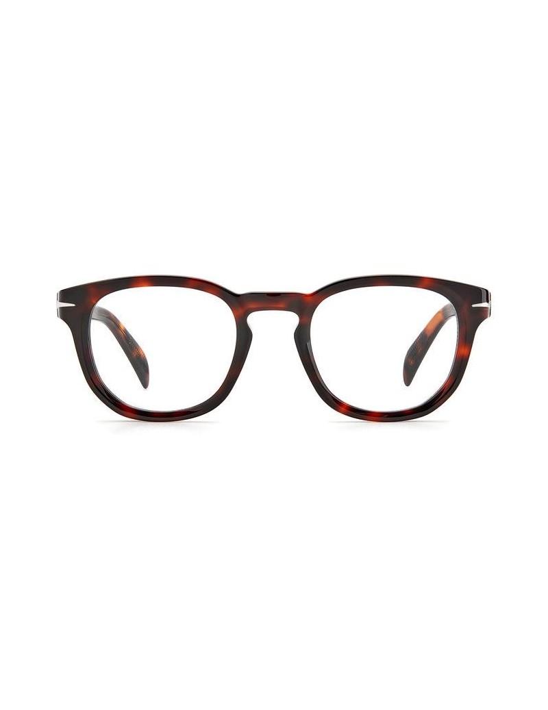 Occhiale da vista David Beckham  modello Db 7050 colore 0UC/22 RED HAVANA