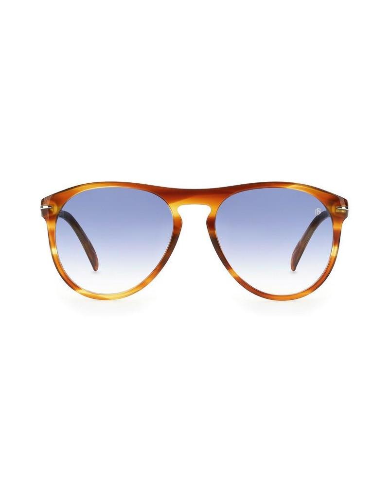 Occhiali da sole David Beckham  modello Db 1008/s colore EX4/08 BROWN HORN