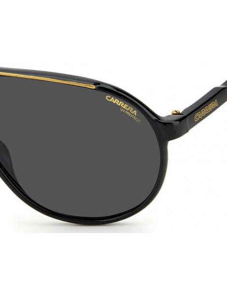 Occhiali da sole Carrera modello Champion65 colore 807/IR BLACK
