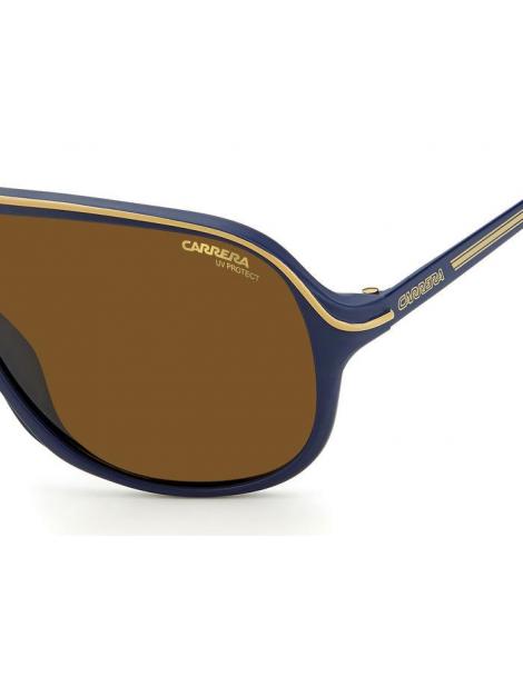 Occhiali da sole Carrera modello Safari65 colore PJP/70 BLUE
