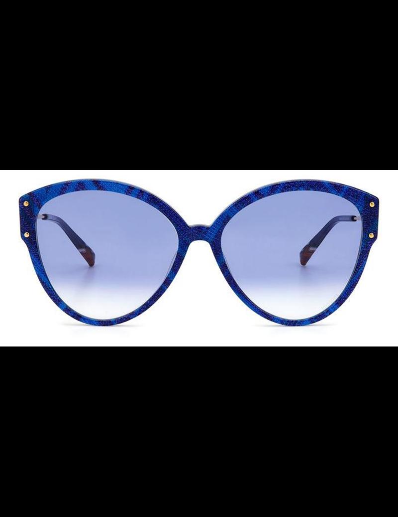 Occhiali da sole Missoni modello Mis 0004/s colore S6F/08 BLUE PATTERN