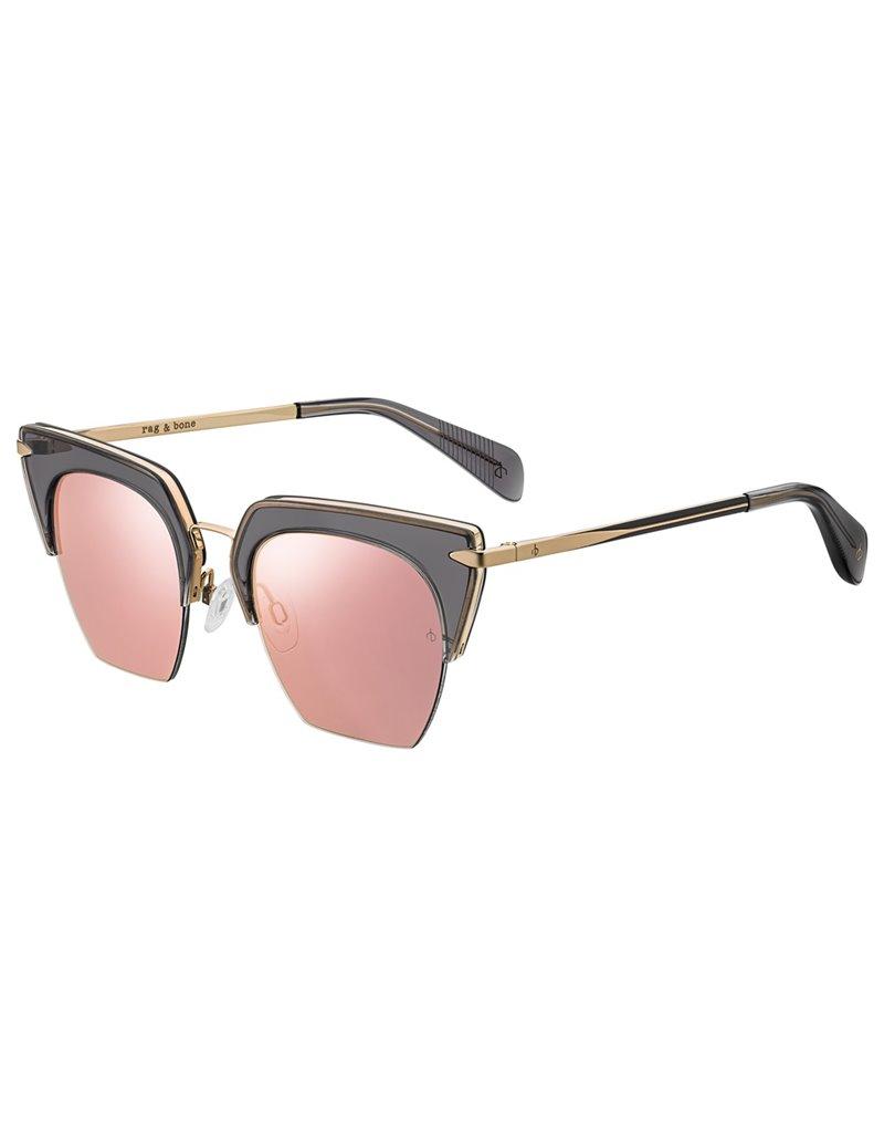 Occhiali da sole Rag & Bone modello Rnb1007/s colore FT3/0J GREY GOLD