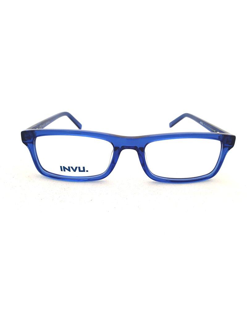 Occhiale da vista Invu. modello B4132D colore transp  blue
