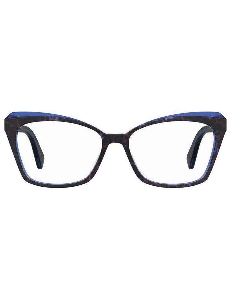 Occhiale da vista Moschino modello Mos569 colore IPR/15 HAVANA BLUE