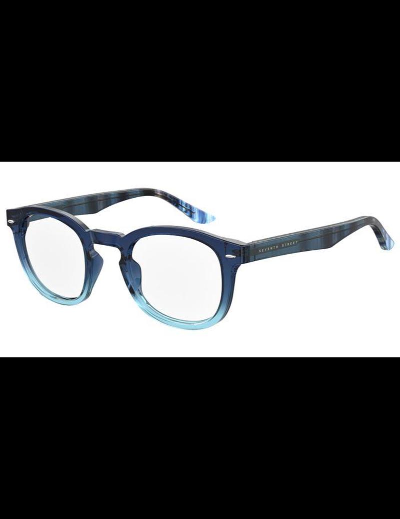 Occhiale da vista Seventh Street modello 7a 049 colore ZX9/23 BLUE AZURE
