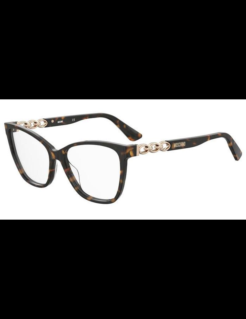 Occhiale da vista Moschino modello Mos588 colore 086/16 HAVANA