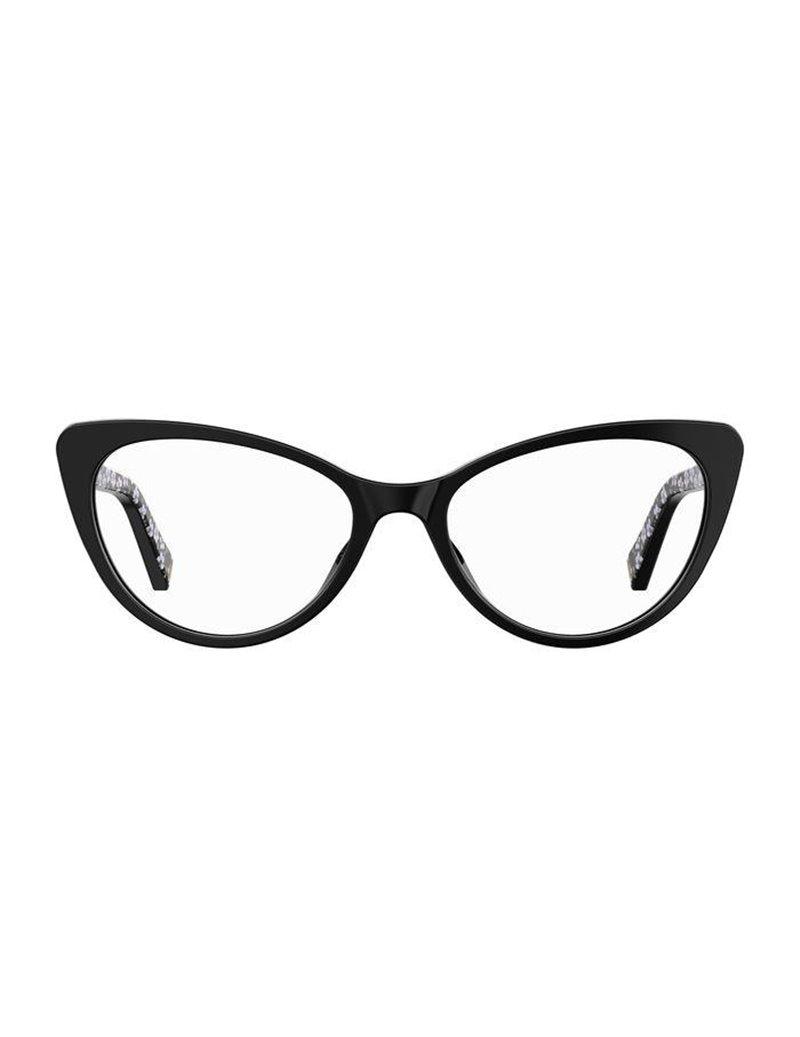 Occhiale da vista Love Moschino modello Mol573 colore 807/18 BLACK
