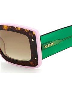 Occhiali da sole Missoni modello Mis 0041/s colore PHW/HA HAVANA GREEN
