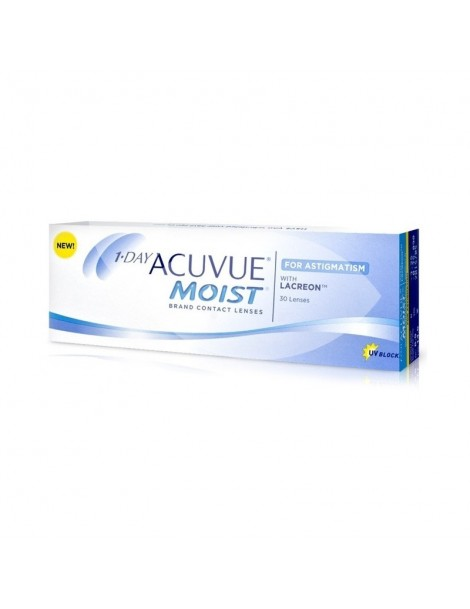 1 DAY ACUVUE MOIST for ASTIGMATISM PER MIOPIE