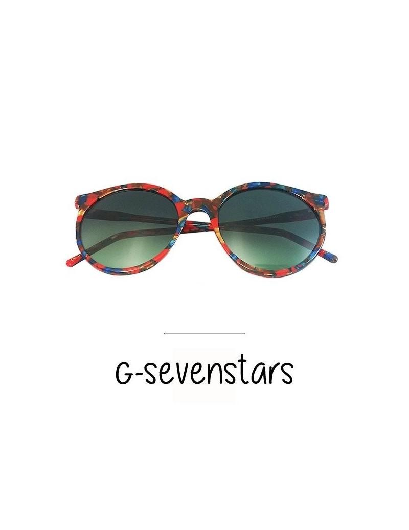 Occhiali da sole G-SevenStars modello Jupiter colore rosso