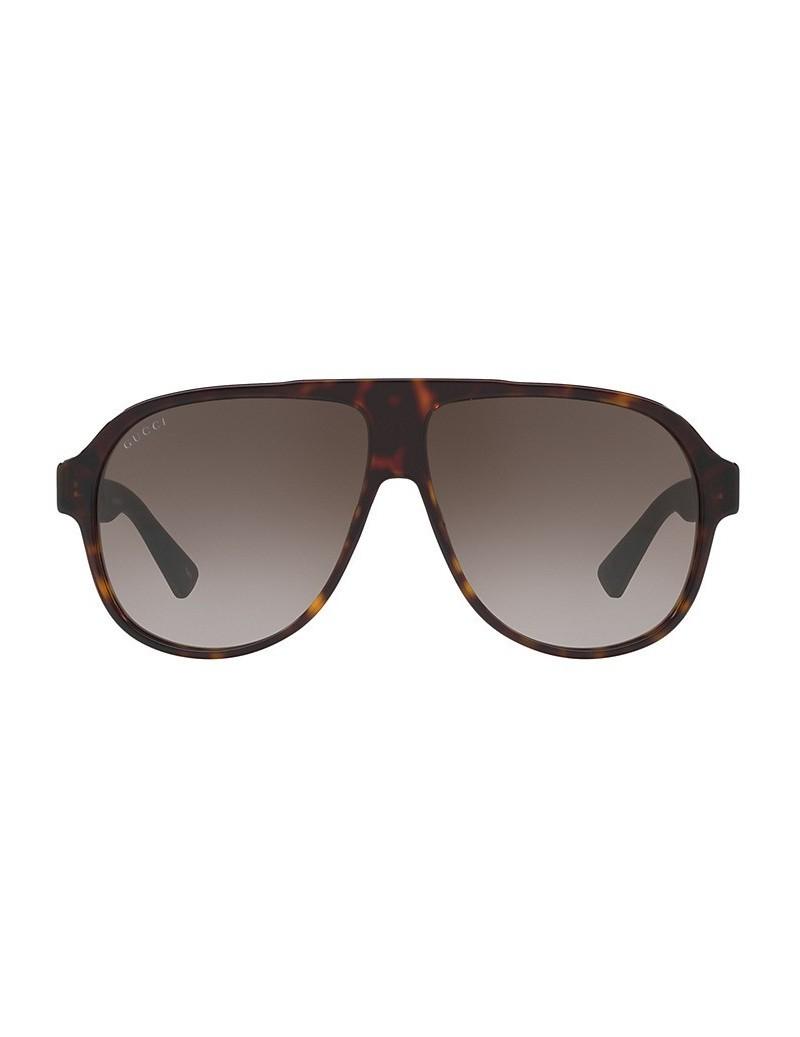 Occhiali da sole Gucci modello GG0009S colore 003